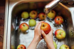An incident involving the improper handling of produce in a Giant supermarket Saturday in Manassas, Va., is a good reminder to wash fruits and vegetables before eating them.