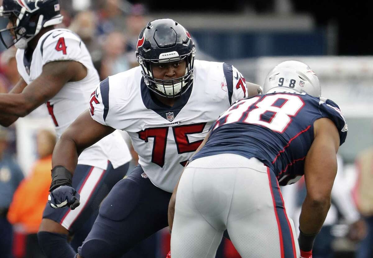 PHOTOS: 2018 NFL combine winners and losers Texans rookie offensive tackle Martinas Rankin (75) was thrust into action in the season opener against the Patriots after Seantrel Henderson broke his ankle. >>>Look back at the winners and losers from the 2018 NFL scouting combine ...