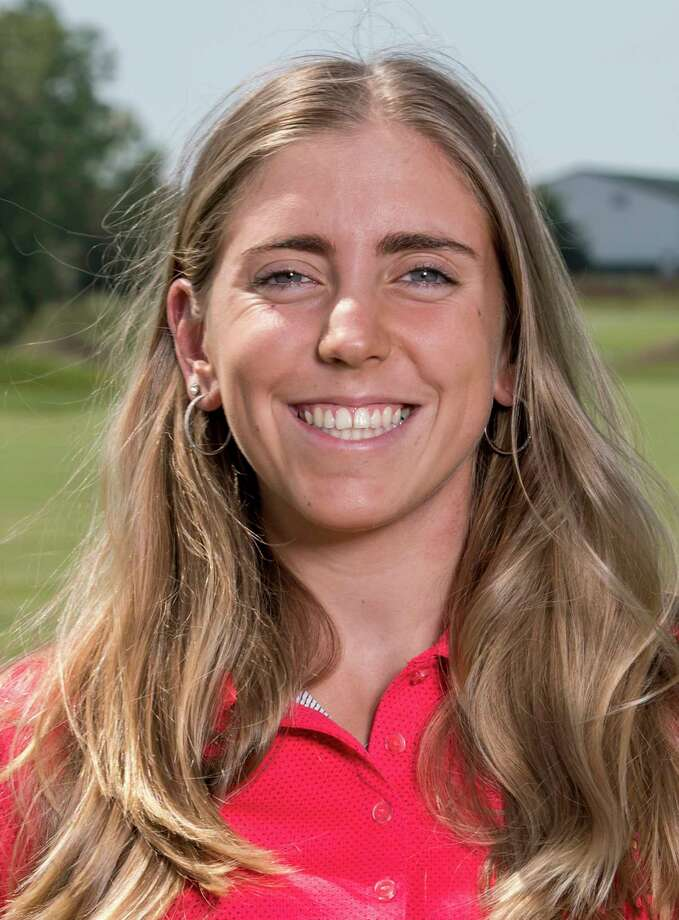 In this Sept. 7, 2017, photo provided by Iowa State University in Ames, Iowa, golfer Celia Barquin Arozamena poses for a photo. The former ISU golfer was found dead Monday, Sept. 17, 2018, at a golf course in Ames.   Collin Daniel Richards, was arrested and charged with first-degree murder in her death. (Luke Lu/Iowa State University via AP) Photo: Luke Lu / Iowa State University