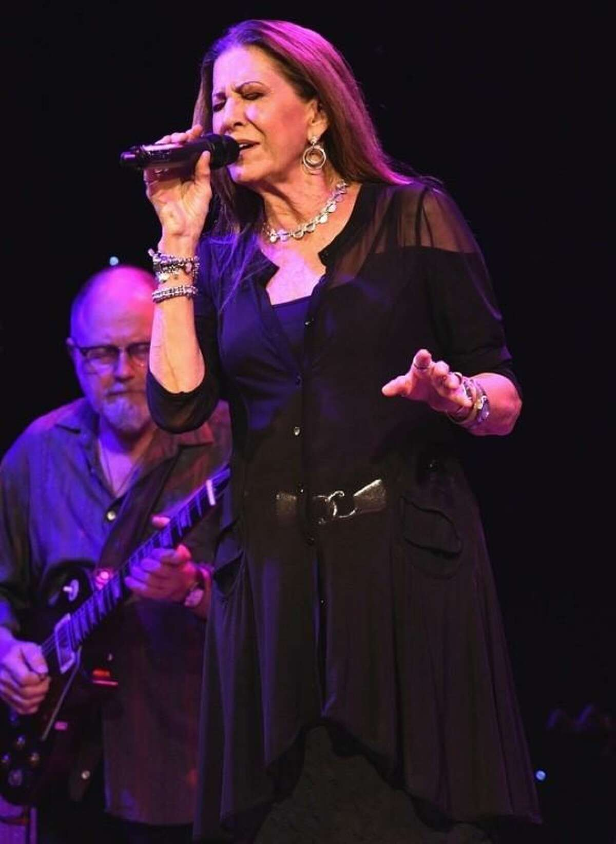One of music's most enduring voices and composers Rita Coolidge is shown singing with strong passion during her top shelf concert performance at the Infinity Music Hall in Hartford Sept. 13. Her show included music and stories from her near 50 year successful career. Rita is currently on tour in support of her latest album