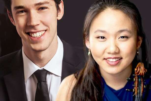 Violinist Stella Chin and pianist Tomer Gewirtzman will play sonatas by Brahms and Beethoven on Sunday, Sept. 23 at 5 p.m. in the first concert of the 45th season of the Collomore Concert Series at the historic Chester Meeting House at 4 Liberty Street, Chester.