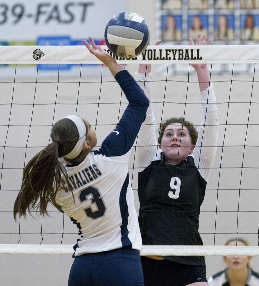 Conroe senior Sophie Harrison, shown here earlier this season against College Park, had nine kills, 18 assists, six digs and five aces against Klein Forest Tuesday night. Photo: Jason Fochtman, Houston Chronicle / Staff Photographer / © 2018 Houston Chronicle