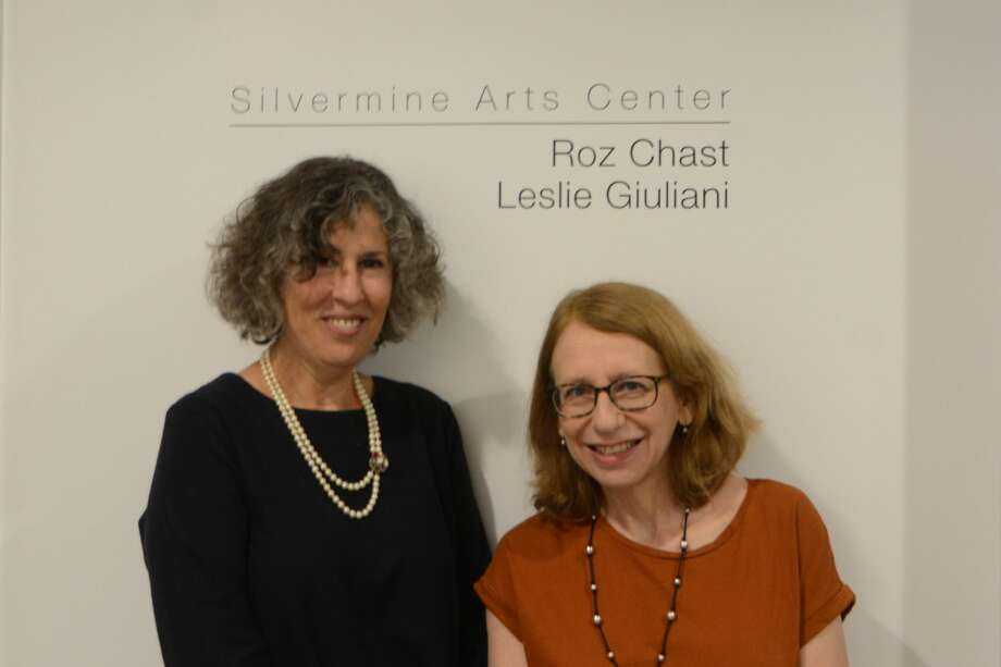 Hearst Connecticut Media Group hosted areception for the Silvermine Arts Center artists Roz Chast and Leslie Giuliani in Norwalk on September 18, 2018. Guests enjoyed displayed artwork that will be up through mid-October. Were you SEEN? Photo: Vic Eng / Hearst Connecticut Media Group