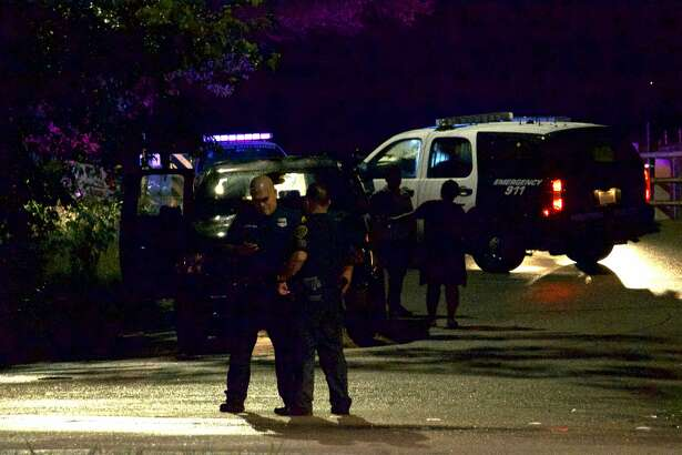 A Houston police officer was involved in a crash on the city's northwest side Tuesday night.