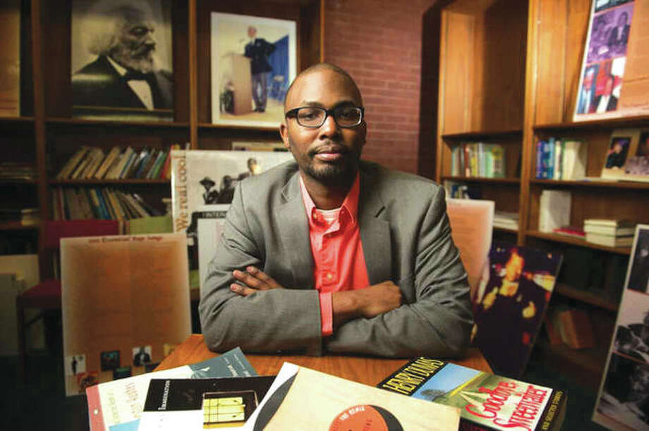 Howard Rambsy II, PhD, professor in SIUE's Department of English Language and Literature, is the director of the Frederick Douglass and Literary Crossroads Institute to be offered in July 2019 and made possible by a $106,000 National Endowment for the Humanities (NEH) award. Photo: SIUE Photo