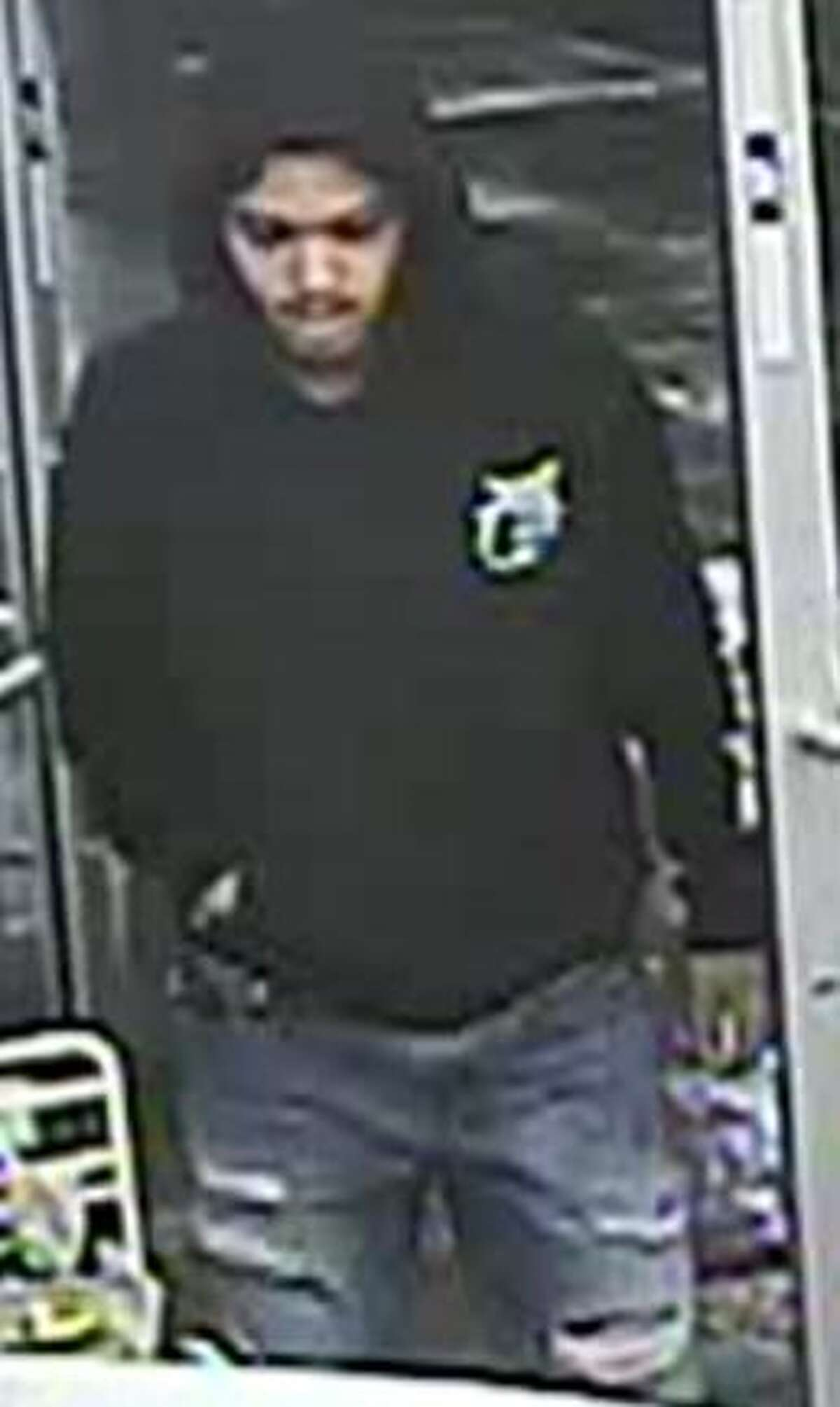 The suspect entered the gas station in the 6000 block of Interstate 35, displayed a weapon and demanded money. He then fled in an unknown direction.