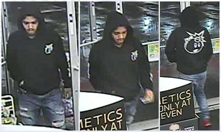 The suspect entered the gas station in the 6000 block of Interstate 35, displayed a weapon and demanded money. He then fled in an unknown direction. Photo: Crime Stoppers