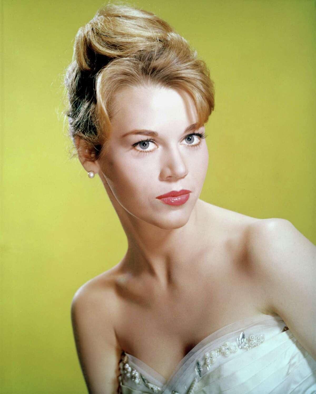 BEFORE: American actress Jane Fonda, circa 1965.