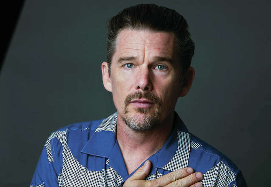 "In this Sept. 6, 2018 photo, actor-director Ethan Hawke poses for a portrait in New York to promote his film ""Blaze."" Photo: Associated Press"