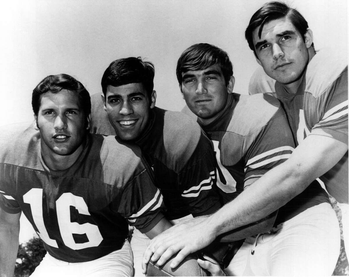 By the end of the 1968 season, the Texas wishbone was set with QB James Street and backs Chris Gilbert, Steve Worster, Ted Koy.