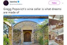 @JasmineLWatkins: Gregg Popovich's wine cellar is what dreams are made of