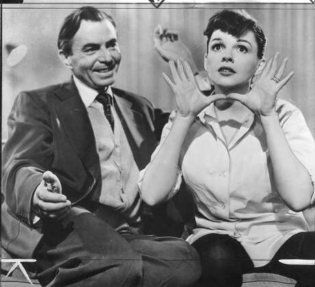 """James Mason (left) and Judy Garland in 1954's """"A Star is Born."""" Photo: /"""