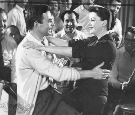"""James Mason (left) and Judy Garland in 1954's """"A Star is Born."""" Photo: File"""