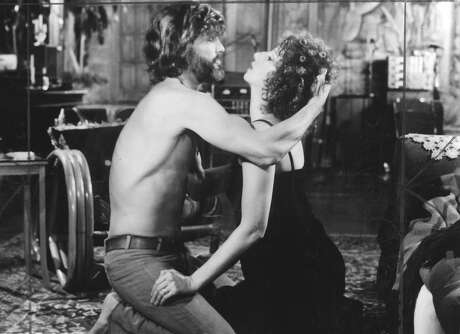 """Kris Kristofferson (left) and Barbra Streisand in 1976's """"A Star is Born."""" Photo: /"""