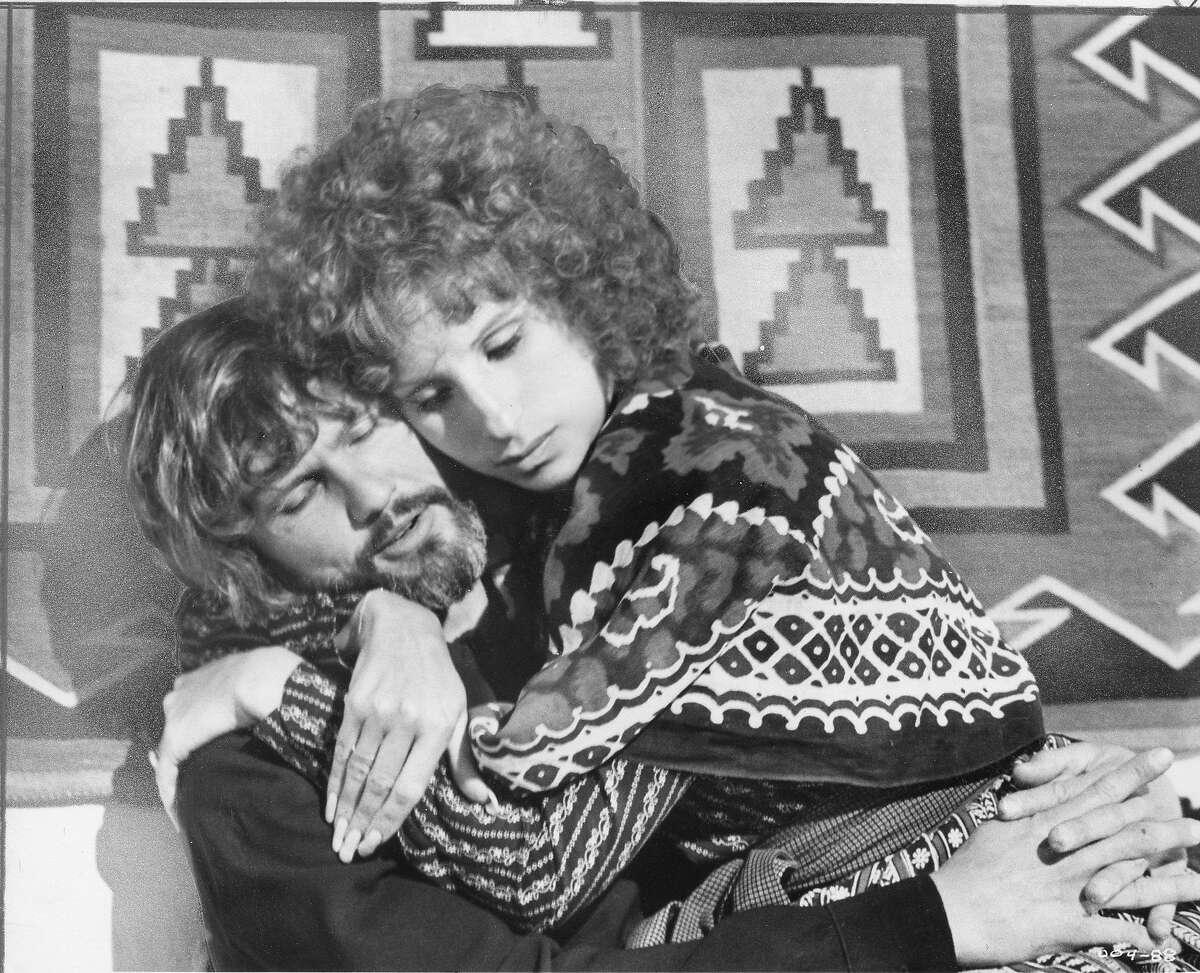 Barbra Streisand and Kris Kristofferson in A Star is Born HANDOUT PHOTO Ran 12/20/1976, p.37