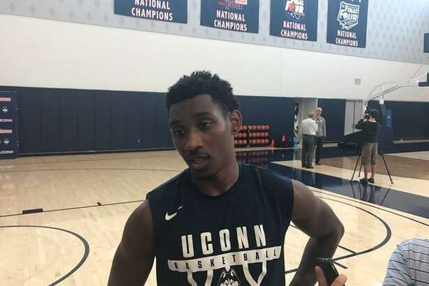 Christian Vital and UConn begin their season on Nov. 8 against Morehead State.