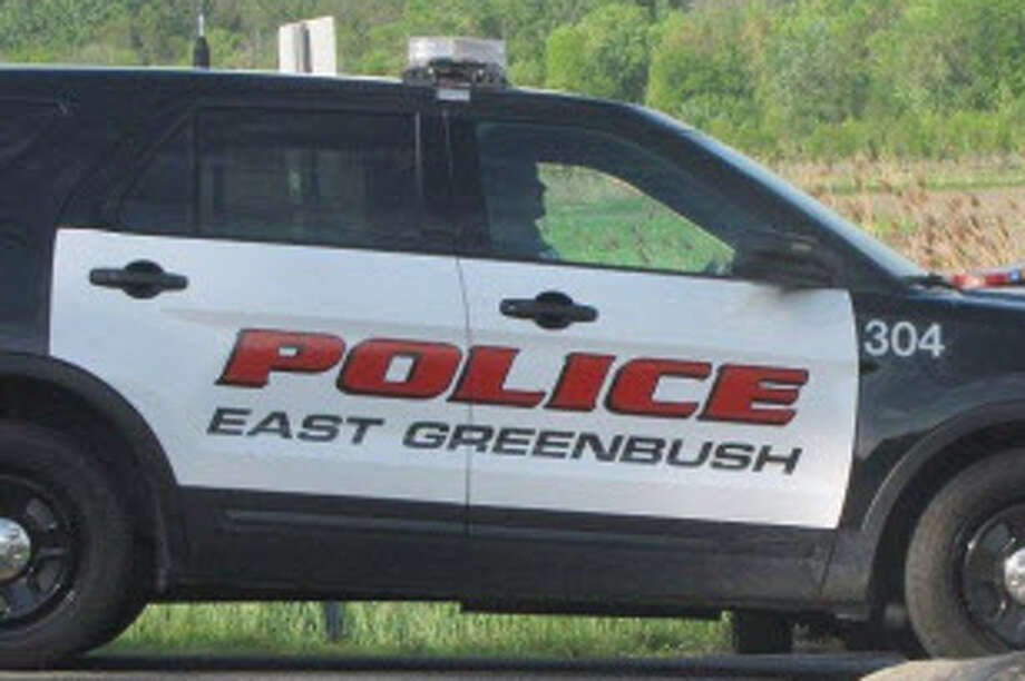 An East Greenbush police officer was arrested Tuesday and charged with possession of stolen property as part of an investigation by the state attorney general's office. Officer Warren Kretzschmar was taken into custody by State Police as he arrived at work to begin his shift, an official said. Photo: Times Union Archive