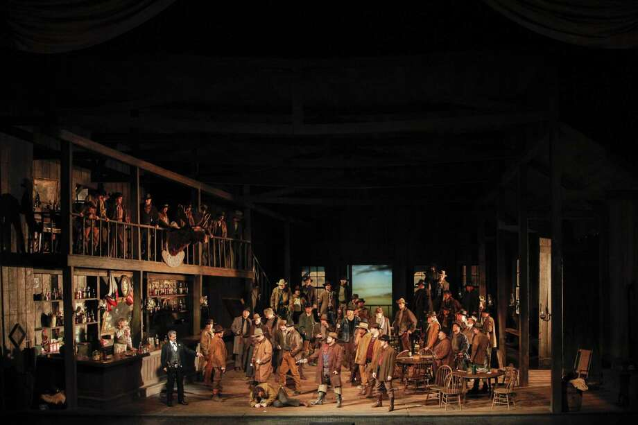 "The Met in HD series continues Oct. 27 with Puccini's ""La Fanciulla del West."" Photo: Ken Howard, Metropolitan Opera /"