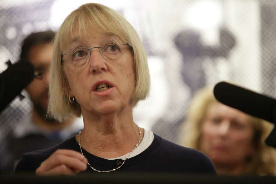 U.S. Senator Patty Murray gives a joint statement with U.S. Senator Maria Cantwell in support of Dr. Christine Blasey Ford who has accused Trump Supreme Court nominee Brett Kavanaugh of attempted rape, Wednesday, Sept. 19, 2018 at Planned Parenthood. Both Senators demand an FBI investigation into Ford's allegations. Photo: GENNA MARTIN, SEATTLEPI.COM / SEATTLEPI.COM