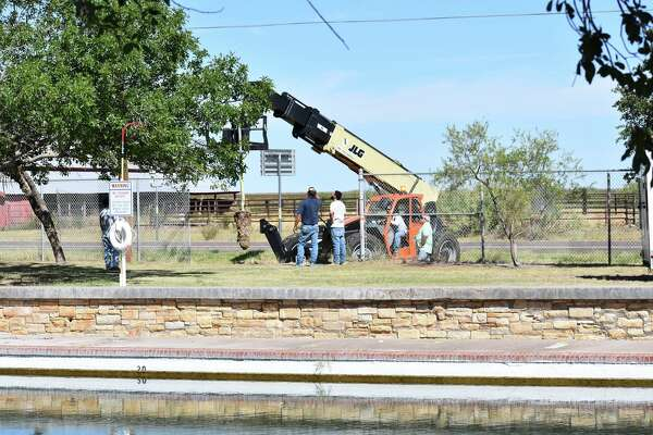 Repairs on the popular spring-fed pool in Balmorhea State Park have officially begun. The pool was unexpectedly shut down mid-May after structural issues were discovered during the pool's annual cleaning.