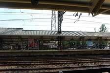 Darien Metro North Station. Taken Aug. 28