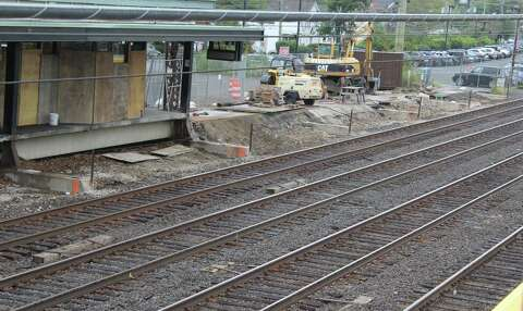 Noroton Heights station work on schedule - Darien Times