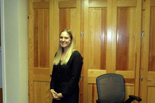 Emily Altman, new visual arts director at Darien Arts Center.