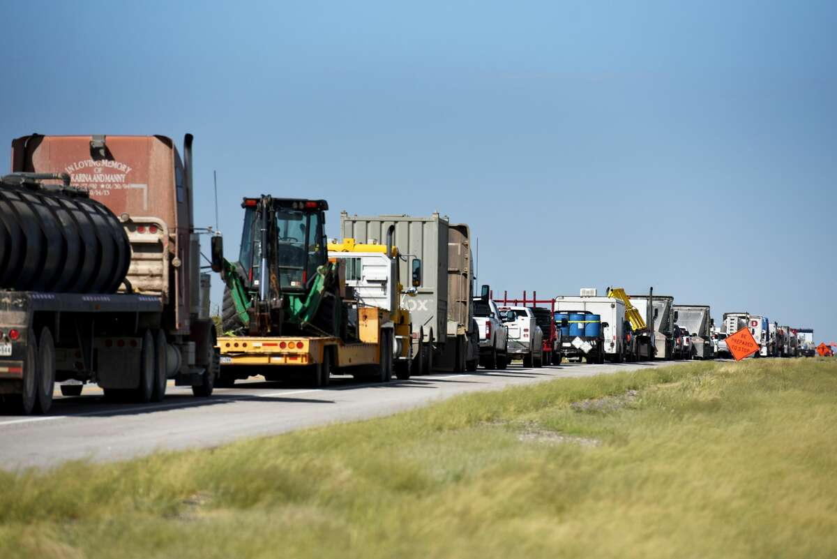 FILE PHOTO: Joe Martin knows what it means to get a load to its destination, no matter what it takes. And it was that kind of spirit that allowed Martin to recover from an accident with a drunk driver and get back into a different type of trucking.