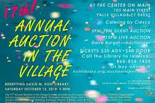 The Hunt Library's Auction in the Village will be held Saturday, Oct. 13.