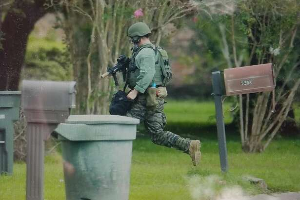 SWAT is on scene in the 9100 block of Landis Drive in Beaumont Wednesday, Sept. 19, 2018.