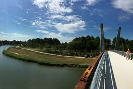 9 - The Mason Park Bridge Grand Opening along Brays Bayou Greenway will be hosted on September 22, 2018. Photo courtesy of Houston Parks Board.