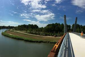 9 – The Mason Park Bridge Grand Opening along Brays Bayou Greenway will be hosted on September 22, 2018. Photo courtesy of Houston Parks Board.