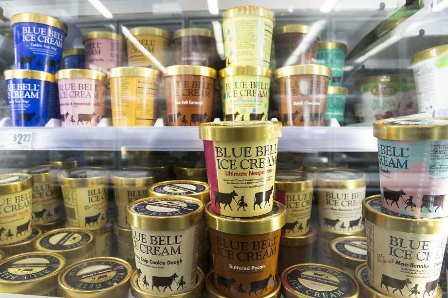 Just in time for Valentine's Day, Blue Bell revealed its latest ice cream flavor to hit stores this week is Red Velvet. Photo: Lynda M. Gonzalez, Associated Press