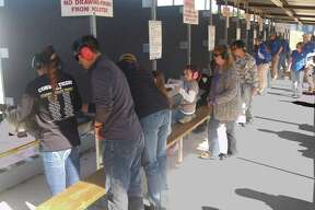 The modern shooting range is a family gathering place for all to share shooting sports.
