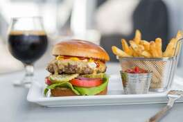 The All-American burger at Muck & Fuss