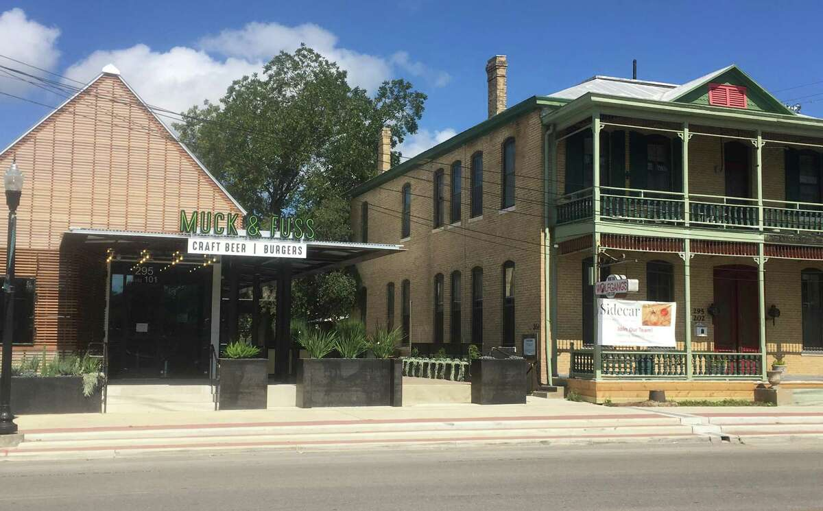 Muck & Fuss and Sidecar are two new restaurant and bar concepts set to open simultaneously in mid-October inside the Prince Solms Inn space at 295 E. San Antonio St. in New Braunfels.