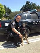 This photo posted to the Daly City Police Department's Facebook page on May 7, 2014 shows Officer Bruce Perdomo. According to the police department, Perdomo had been with the Daly City Police Department for more than six years at the time the photo was taken.