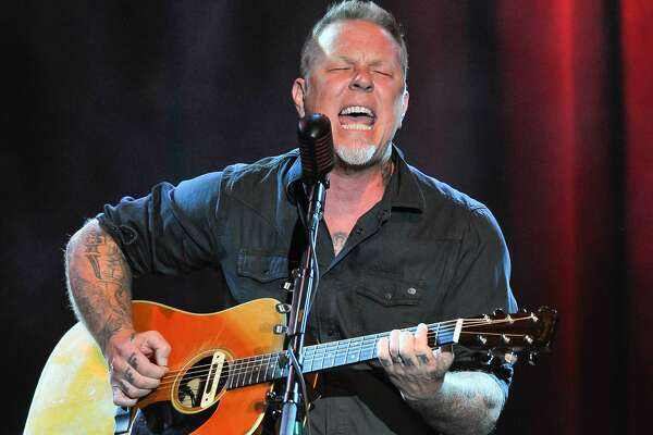 James Hetfield of Metallica performs at the 3rd Annual Acoustic-4-A-Cure concert, a Benefit for the Pediatric Cancer Program at UCSF Benioff Children's Hospital at The Fillmore on May 15, 2016 in San Francisco, California. (Photo by Steve Jennings/WireImage)