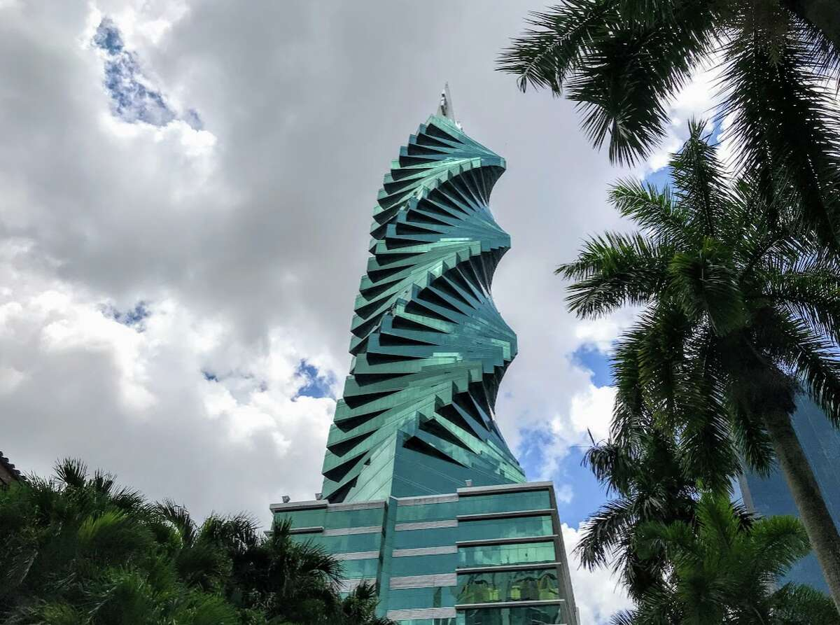Americans will soon be welcome in Panama City, with unusual architecture like this known locally as