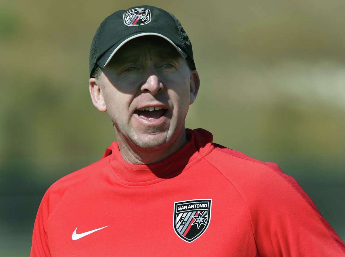 San Antonio FC coach Darren Powell is in his fourth season. He led San Antonio FC to the conference semifinals in 2017 before falling to Oklahoma City Energy FC on penalty kicks.