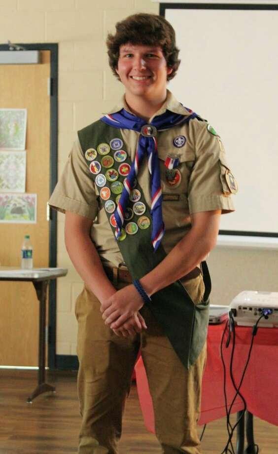 Eagle Scout Zach Archbold