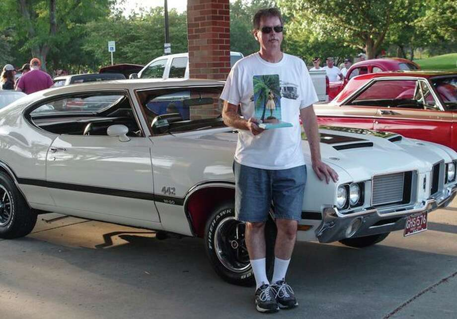 Bryan Rutkowski's 1972 Oldsmobile Cutlass 442 was named best stock cruiser after the parade of vehicles that opened the 29th annual Midland Cruise 'N Car Show. (Photo provided) / ©2018 Stuart Frohm