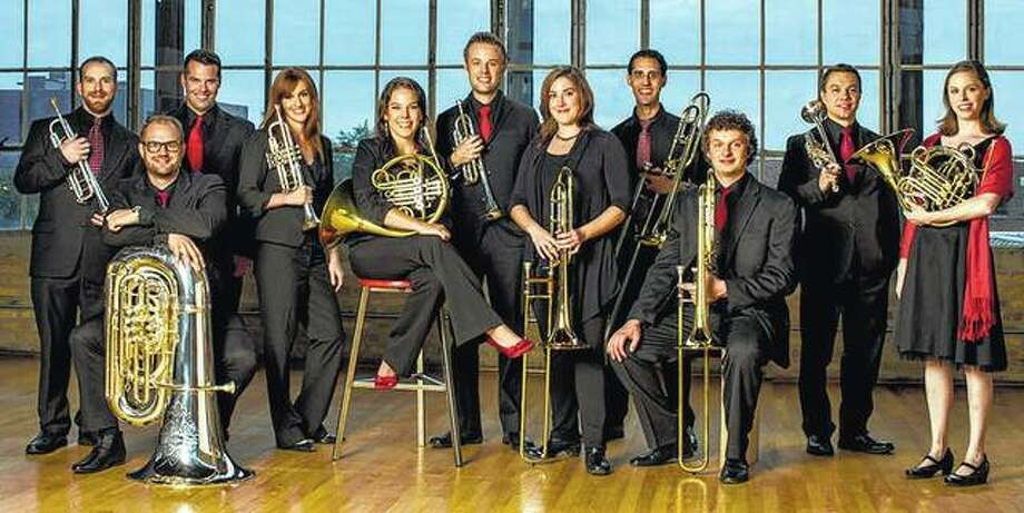 Members of New Chicago Brass will be in concert at 7:30 p.m. Friday at Illinois College's Rammelkamp Chapel as part of the IC Fine Arts Series. Photo: Photo Provided | Todd Rosenberg