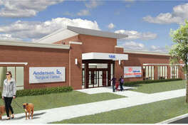 A rendering of the Anderson Goshen Campus.