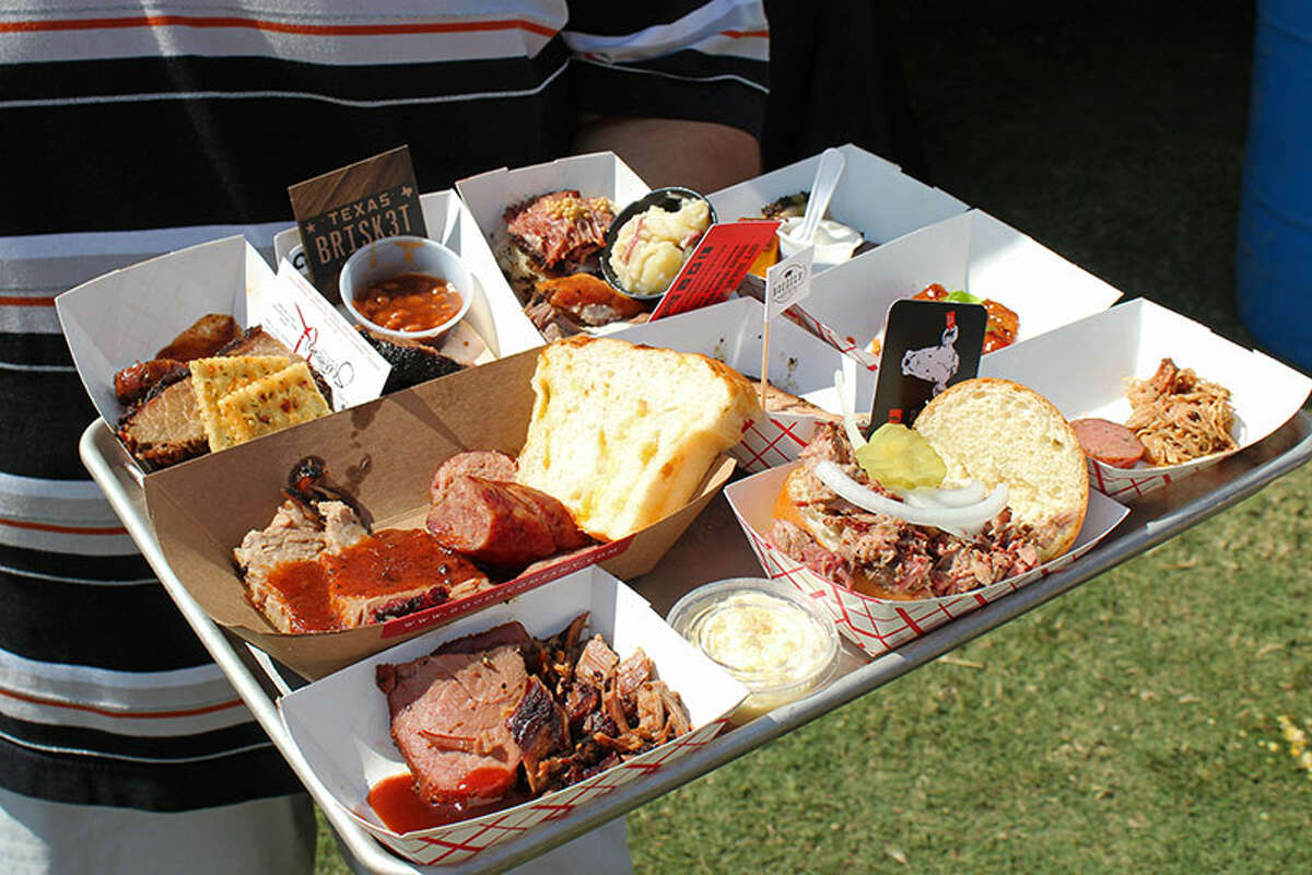 The 2018 Woodlands Barbecue Festival will be held Oct. 7 at Town Green Park. Shown: Scenes from the 2017 festival.