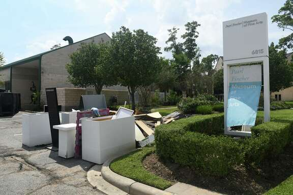 Last September, after being inundated by floodwaters from Hurricane Harvey, the Pearl Fincher Museum of Fine Arts was beginning to clean up.