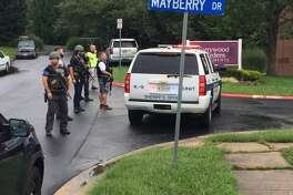 There are multiple victims of a shooting Thursday morning in a business area in Aberdeen, Md., Harford County Sheriff's Office officials said.
