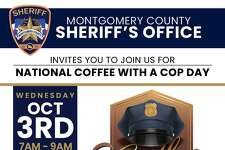 To kick off National Coffee with a Cop Day, the Montgomery County Sheriff's Office welcomes the community to join them for a cup on Oct. 3 at Dosey Doe Breakfast and BBQ in The Woodlands.