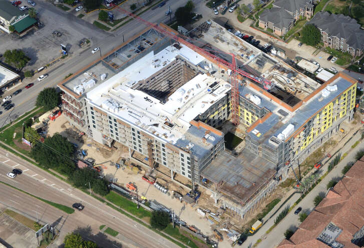 Arch-Con Construction has reached the final height on the first phase of the Buffalo Heights District. The seven-story, 742,000-square-foot, mixed-use development at Washington Avenue and South Heights Boulevard is scheduled for completion in fall 2019.