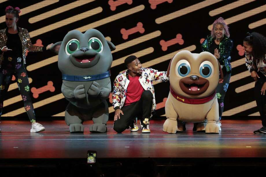 "DANCE PARTY: ""Disney Junior Dance Party On Tour"" brings its interactive live show of familiar characters to the Oakdale Theatre in Wallingford on Sept. 23 at 12:30 and 4 p.m. Tickets are $113-$29. Photo: Courtesy Of Giovanni Rufino / © 2018 Disney Enterprises, Inc. All rights reserved."